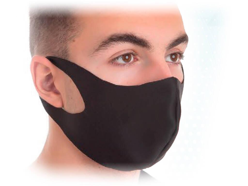 Masque Hygiénique Néoprène Noir Kamabu 80025