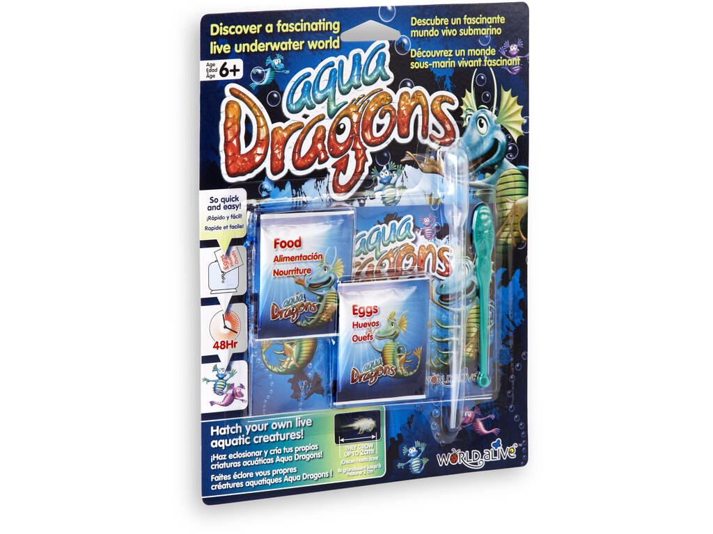 Aqua Dragons Underwater World Refill