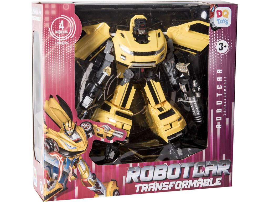 Robot Transformable Auto Warrior Amarillo