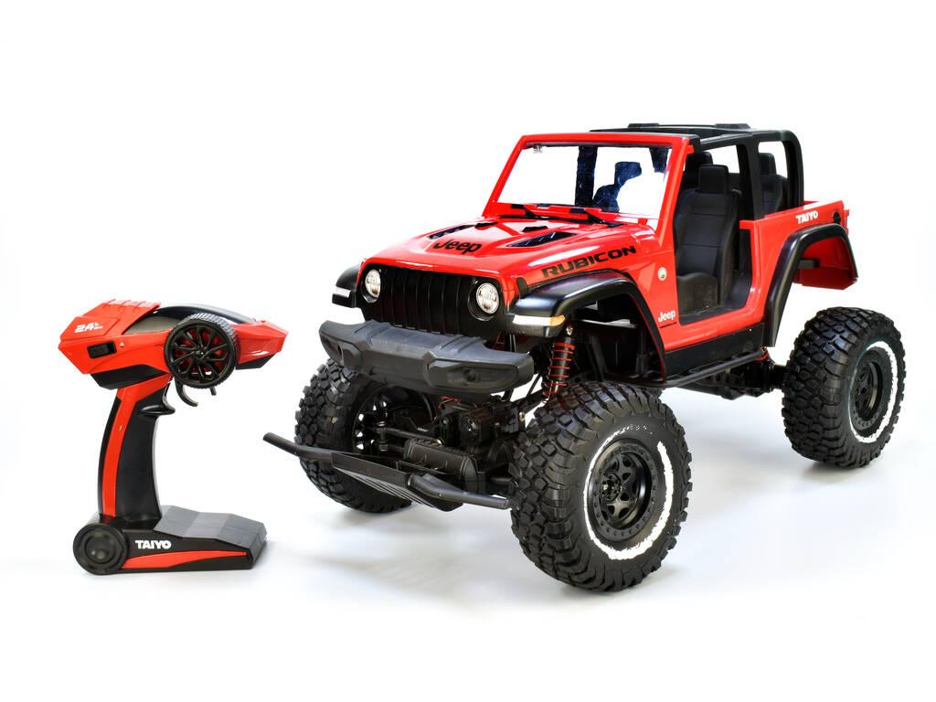 Radio Control 1:8 Jeep Rubicon-4WD Rojo Taiyo 80011A