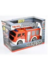 Camión de Bomberos con Luz y Sonido Taiyo 660701B
