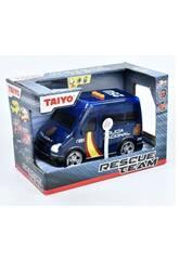 Furgón Policía con Luz y Sonido Taiyo 660702B