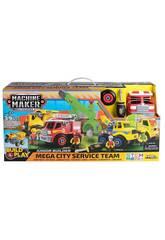 Machine Maker Mega City Services Team Nikko 49016