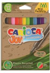 Pack Rotulador Eco Joy 12 Colores Carioca 43100