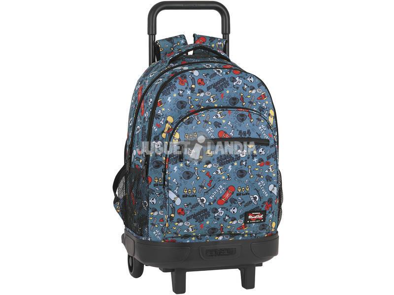 Mochila con Ruedas Compact Extraible Blackfit 8 Safta 642041918