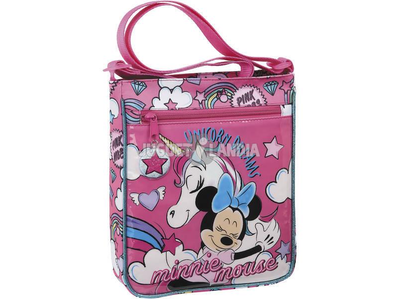 Bolsito Bandolera Minnie Mouse Unicorns Safta 612012431