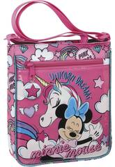 Bolsito Bandolera Minnie Mouse Unicorns Safta 612012431