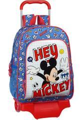 Zaino con Trolley Mickey Mouse Safta 612014313