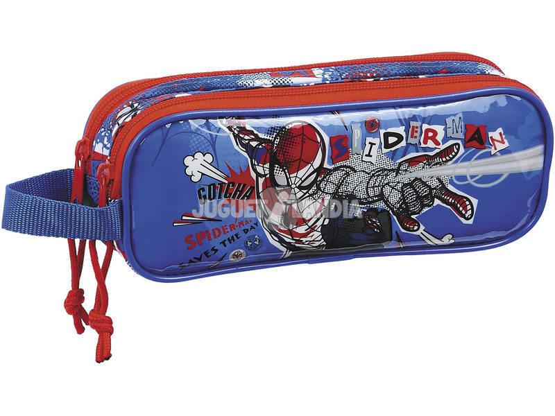 Portatodo Doble Spiderman Perspective Safta 812043513