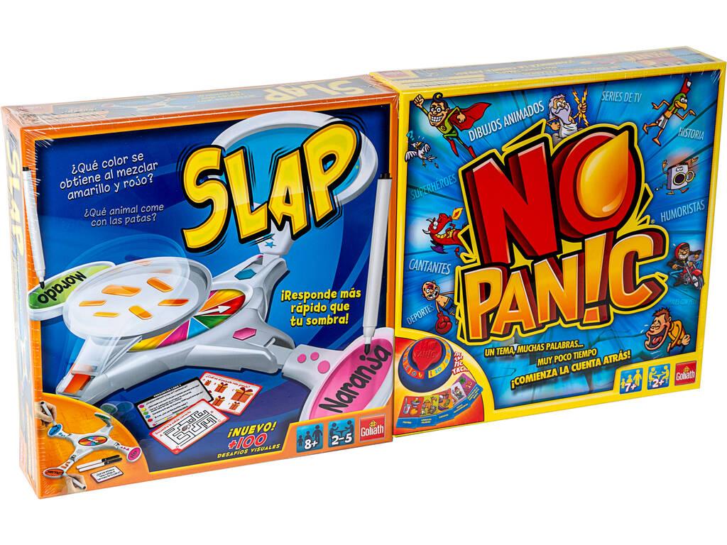 Pack Juegos Slap + No Panic Goliath 914530