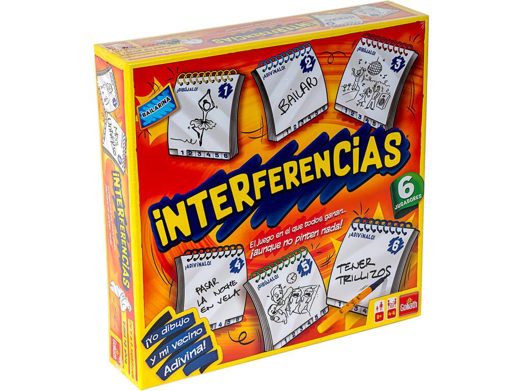 Juego Interferencias 6 Jugadores Goliath 914499