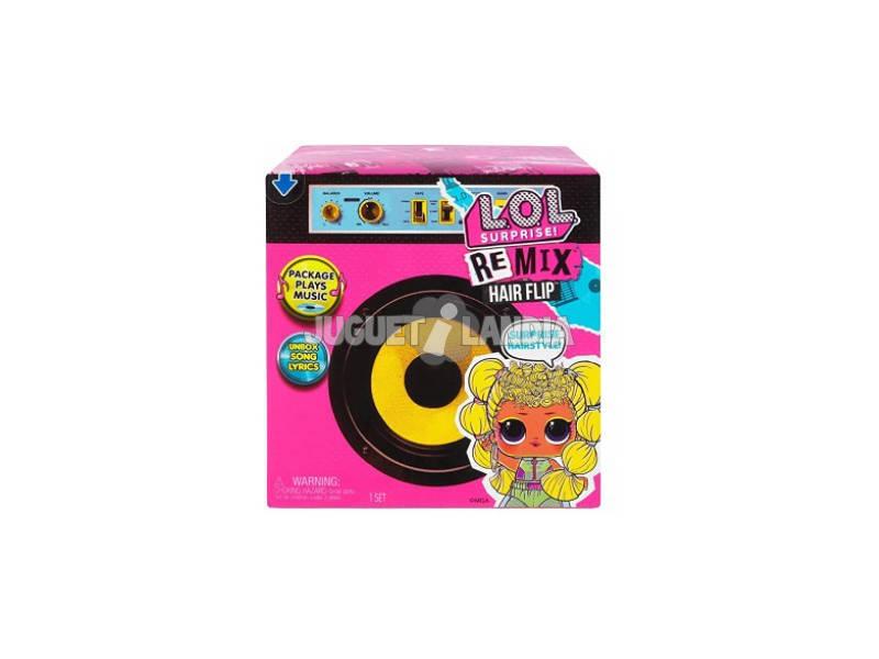 LOL Surprise Remix Muñeca Hair Flip Giochi Preziosi LLUG8000