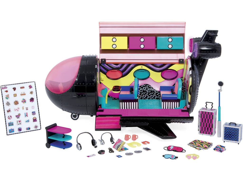 LOL Surprise Omg Fashion Serie Remix El Avión Giochi Preziosi LLX03000