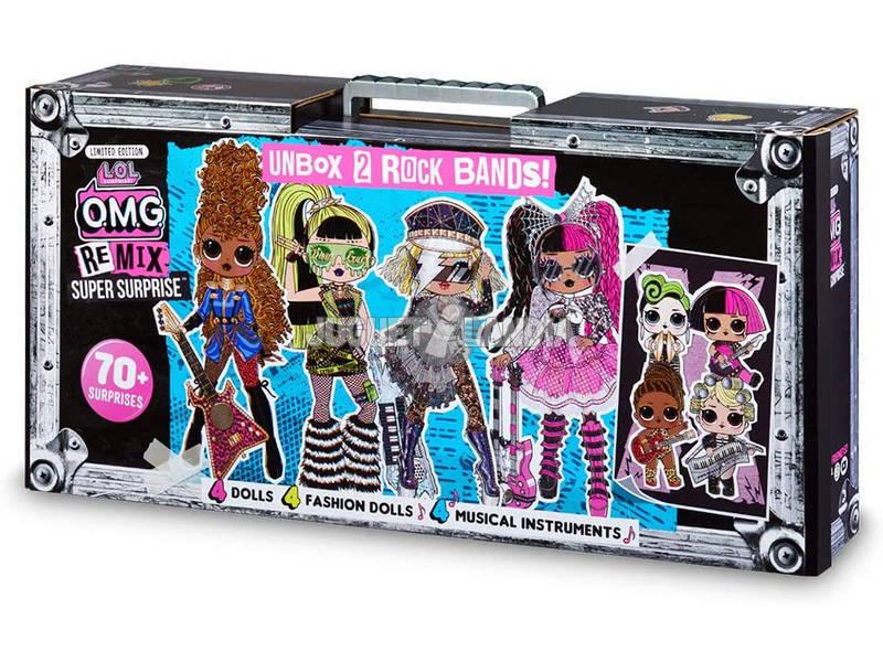 LOL Surprise Omg Fashion Serie Remix Boombox Super Surprise Giochi Preziosi LLUD8000