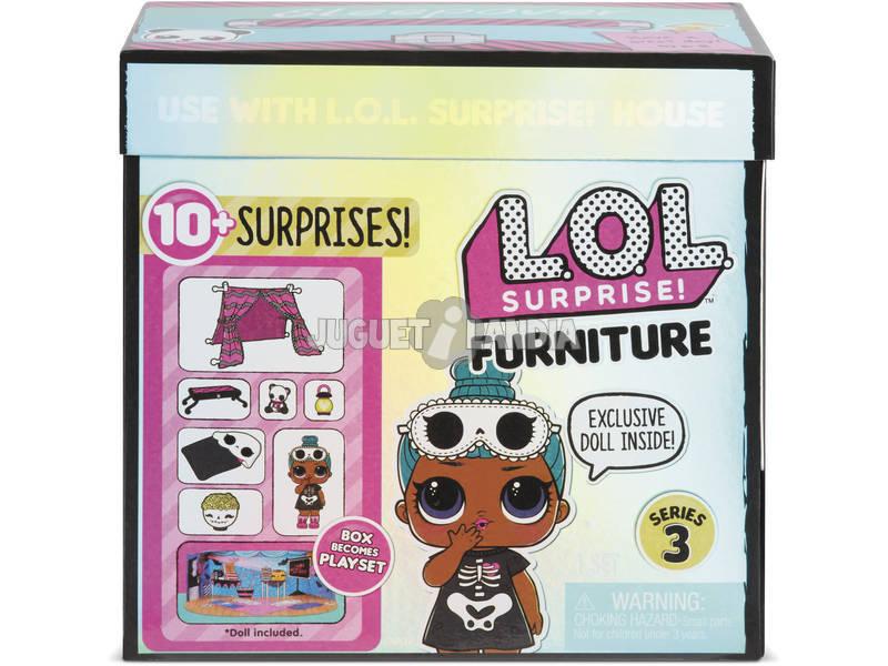 LOL Surprise Furniture Pack Con Muñeca Serie 3 Giochi Preziosi LLUC8000