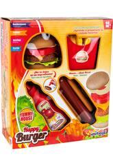 Happy Burger Set 4 Peças