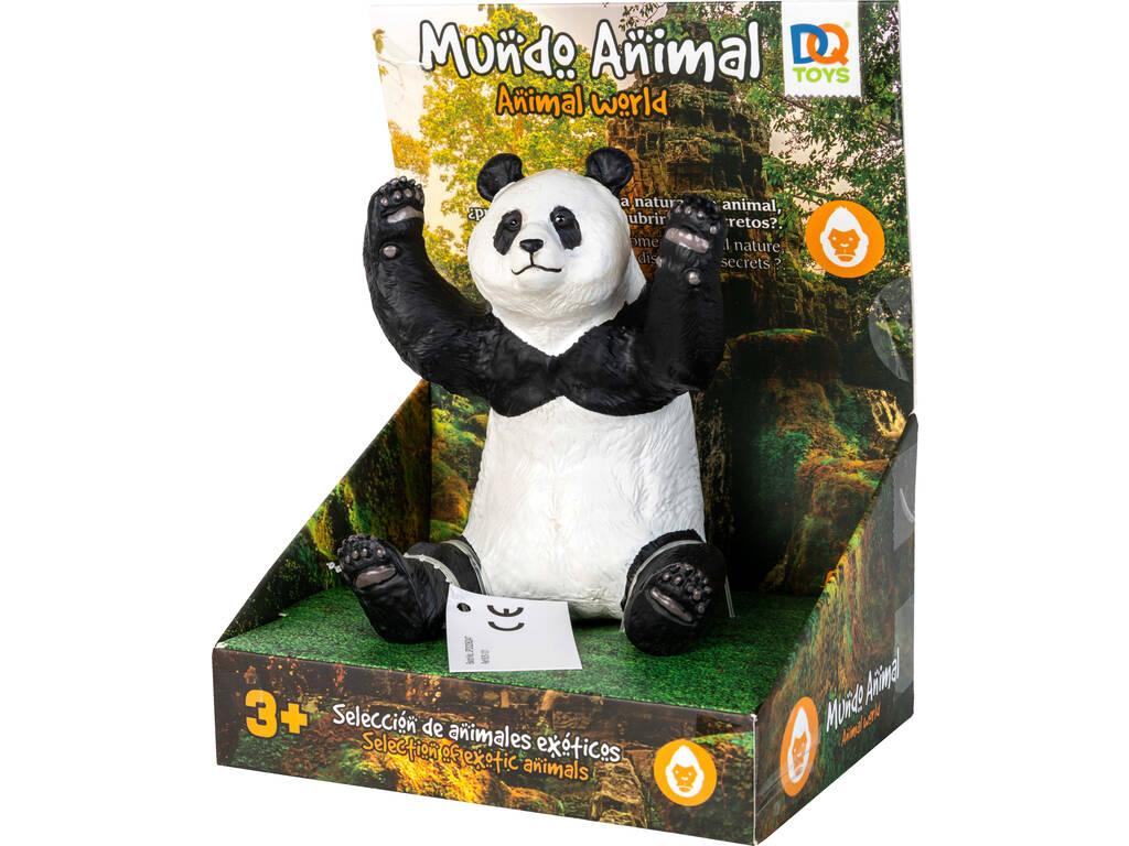 Mundo Animal Figura Oso Panda 12 cm.
