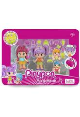 PinyPon New Look Pack 4 Figurines Famosa 700015571