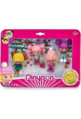 Pin y Pon Pack 4 Figuras Neve Famosa 700015771
