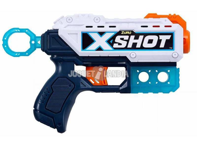 X-Shot Kickback Pistola con 8 Dardos Zuru 36184