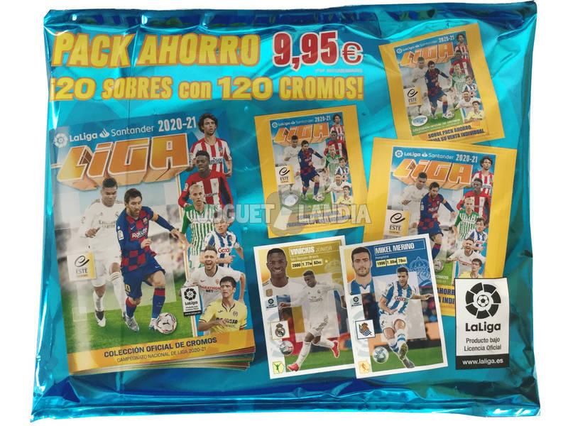 La Liga Este 20-21 Pack Ahorro 20 Sobres Panini