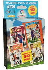 La Liga Este 20-21 Pack 10 Sobres Panini