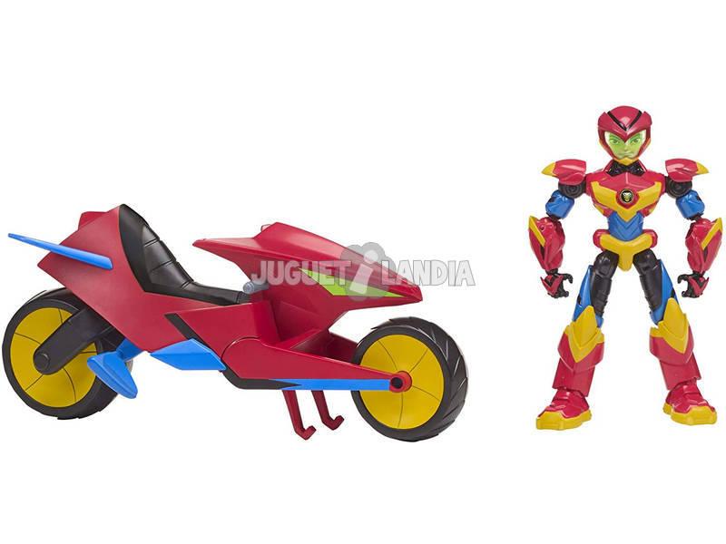 Power Players Moto De Axel Con Figura Famosa PWW00000