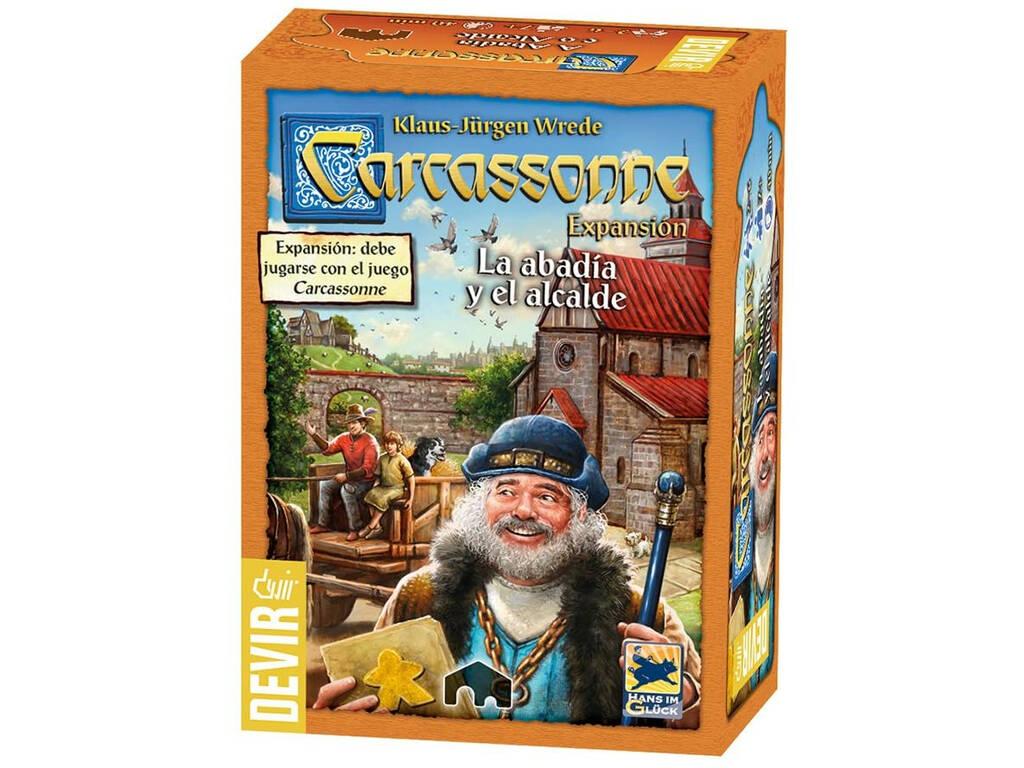 Carcassonne Expansión La Abadía y El Alcalde Devir BGCARAB