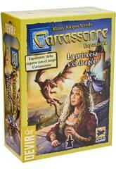 Carcassonne Erweiterung Die Prinzessin und der Drache Devir BGCARPRI