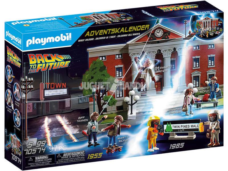 Playmobil Regreso al Futuro Calendario de Adviento 70574