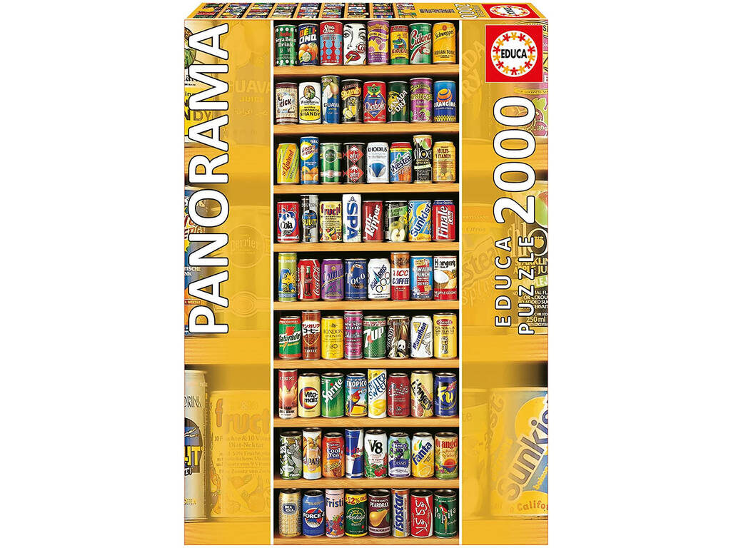 Puzzle 2.000 Lata Sobre Lata Panorama Educa 11053