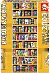 Puzzle 2.000 Canettes de Sosa Panorama Educa 11053