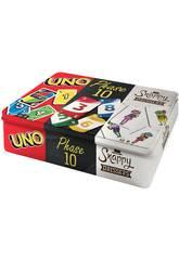 Uno, Phase 10 e Snappy Dressers Mattel FFK01