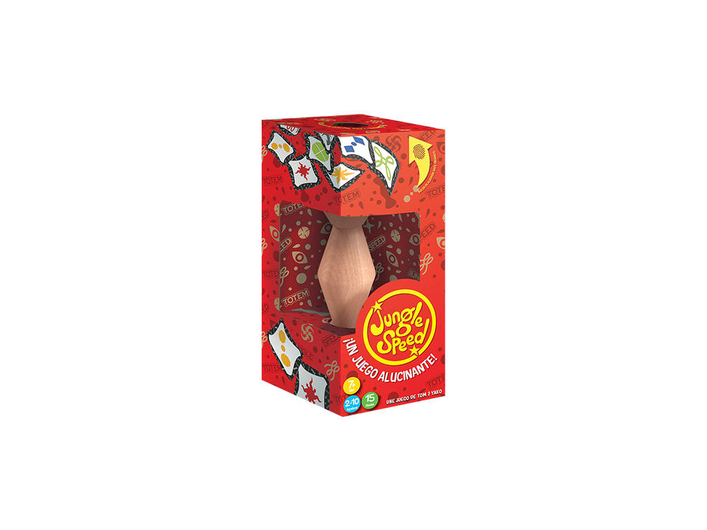Jungle Speed Eco Asmodee ASMJSECO01ESPT