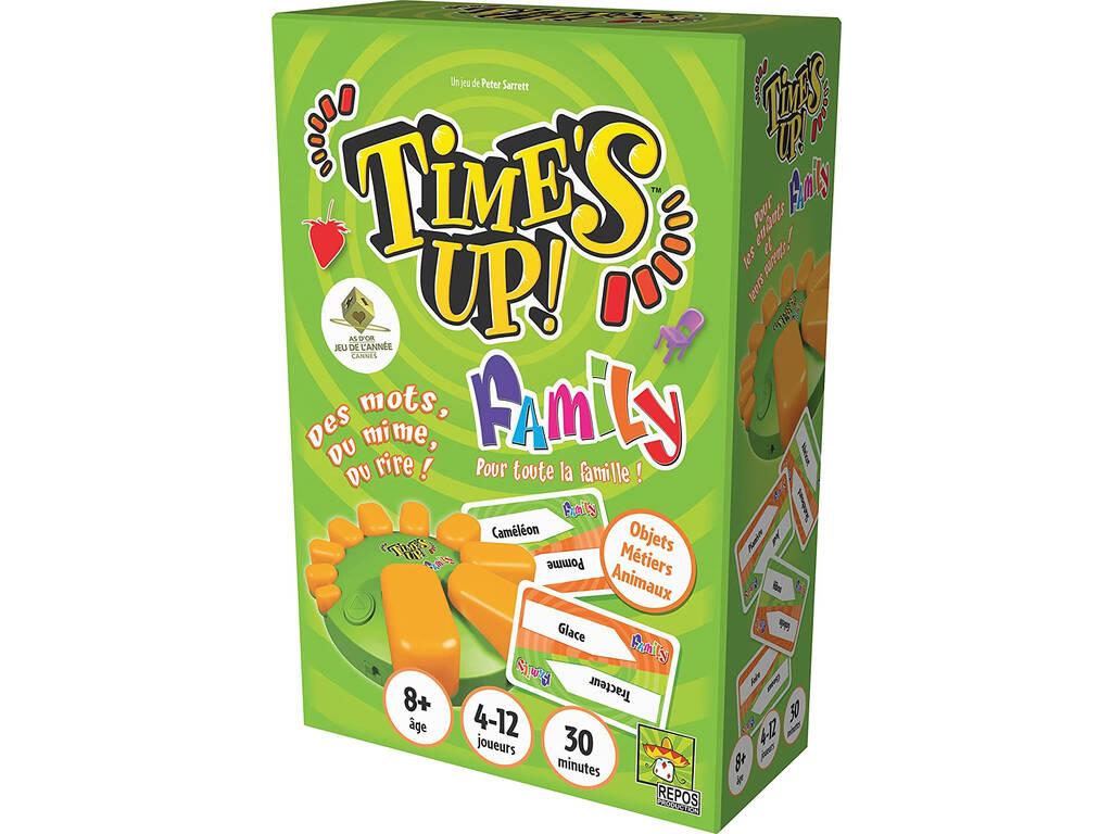 Time´s Up Family Versión Verde Asmodee RPTUFA03