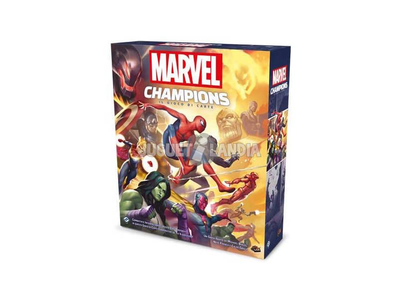 Marvel Champions Le Jeu de Cartes Asmodee MC01ES
