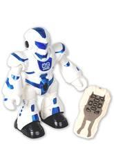 Megabot Danseur Rouge Radio Commande avec des Lumières et des Sons