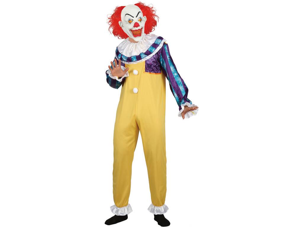 Disfraz Adulto Hombre Creepy Clown Talla M