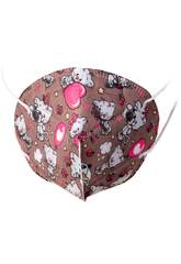 Masque Chatons In Love Pour Enfants Kamabu 15