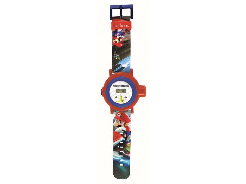 Super Mario Reloj Proyector Digital con 20 Proyecciones Lexibook DMW050NI