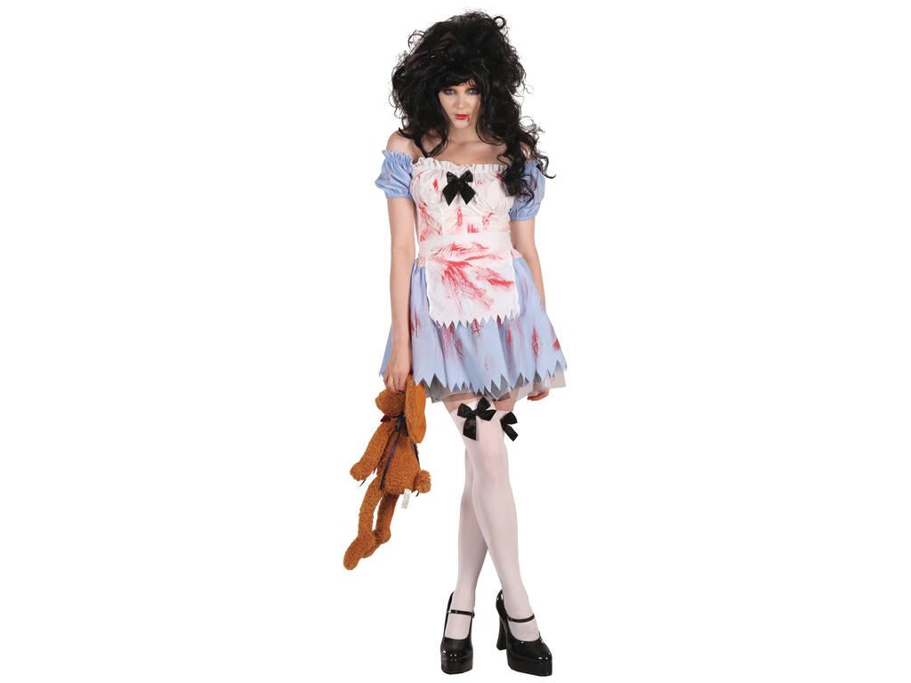 Disfraz Adulto Mujer Chica Zombi Talla S