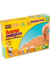 Arena Mágica 250 gr. Animalitos 11 Piezas