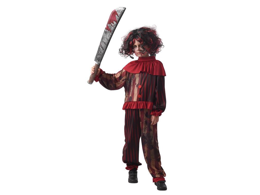 Disfraz Creepy Clown Niño Talla M