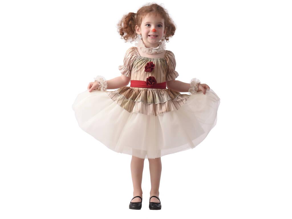 Disfraz Creepy Clown Bebé Talla M