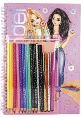TopModel Libro de Colorear con Set 10049