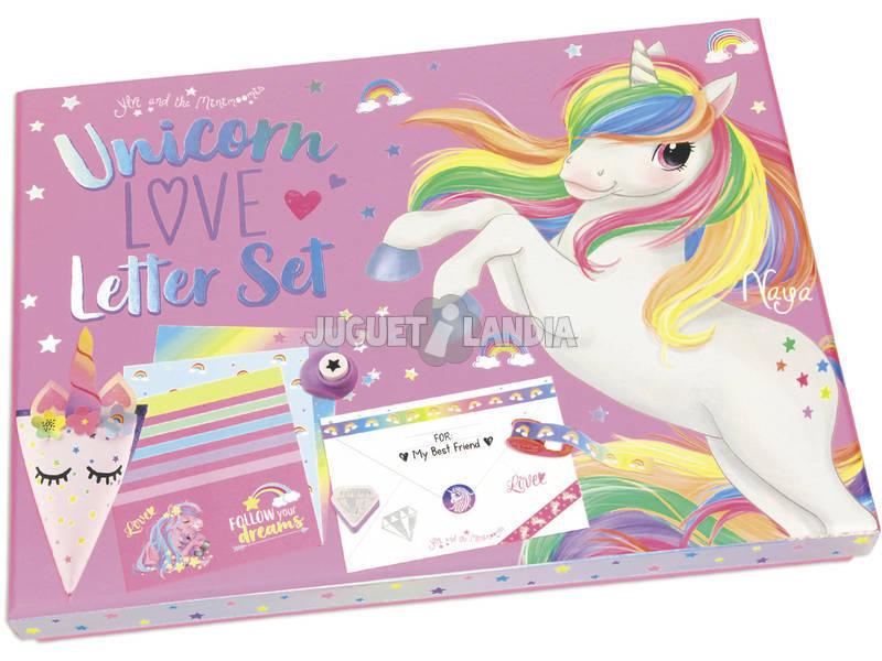 Ylvi y Los Minimoomis Unicorn Love Letter Set 10537