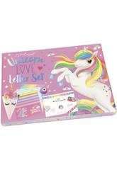 Ylvi et Les Minimoomis Unicorn Love Letter Set 10537