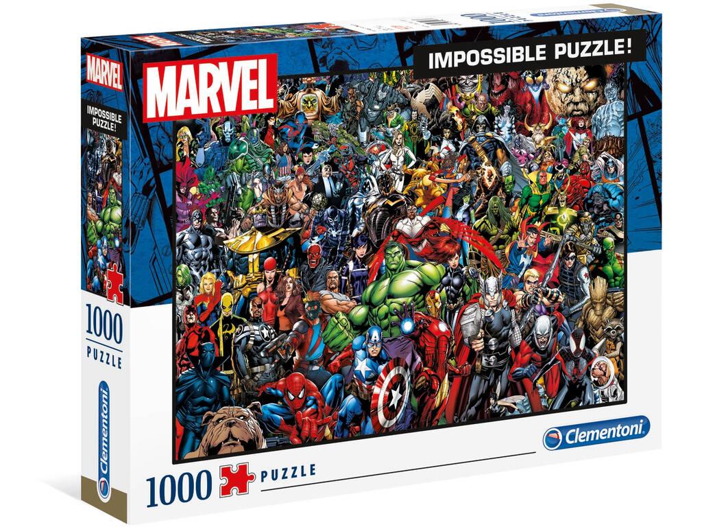 Casse-tête 1000 Marvel Clementoni 39411