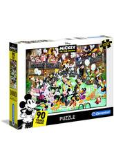 Puzzle 1000 Mickey Mouse 90e Anniversaire Clementoni 39472