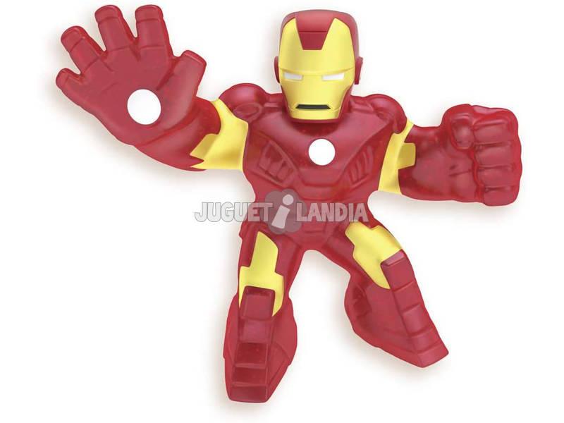 Goo Jit Zu Figurine Marvel Héros Iron Man Bandai 41056
